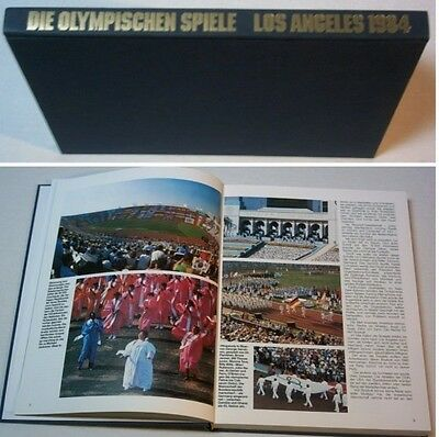 Orig.Book / Report      XXIII.Olympic Games LOS ANGELES 1984  !!     VERY RARE