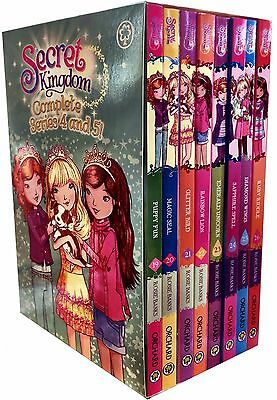 Secret Kingdom Collection 6 Books Set Collection Set (Books 19-24) Series 4 New