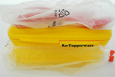 New x2 Tupperware grow with me twinkle cutlery set spoon @ fork 18-36 months