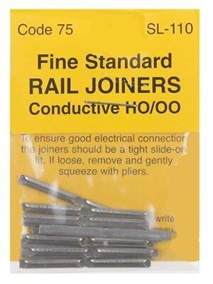 PECO SL-110 - 1pk 00 Gauge Code 75 Finescale Fishplates Track Joiners - 2nd Post