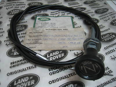 Genuine Choke Cable # Nrc8626 - Land Rover Series .nos. Original,england
