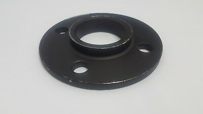 Black / Self Colour Steel Table 'E' Weld Flange -Pipe Fitting- Industrial