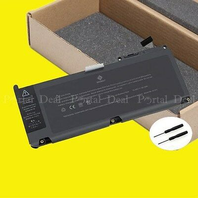 """63.5Wh Battery For Apple MacBook Unibody 13"""" 13.3"""" A1342 A1331 2009/Mid 2010"""