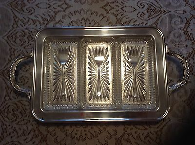 Silverplate Serving Dish - Raimond Relish Dish