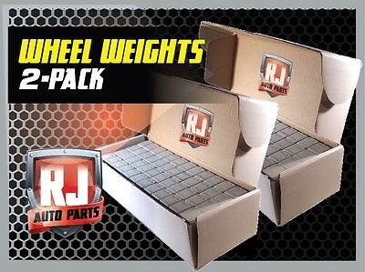 2- Boxes Of Wheel Weights-1/4 Oz Stick-On Adhesive Tape (14 Lbs) 924 Pcs