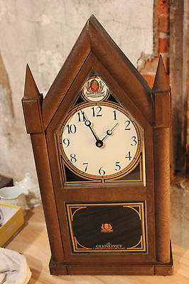 "The Glenlivet Scotch Wall Tower Clock 24"" Tall"
