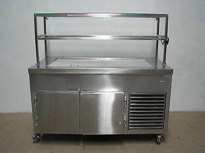Commercial Stainless Steel Cold Cooler Refrigerated Bain Marie
