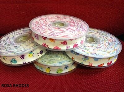 BIAS  COTTON BINDING TAPE - 25mm   - CHOICE OF COLOURS