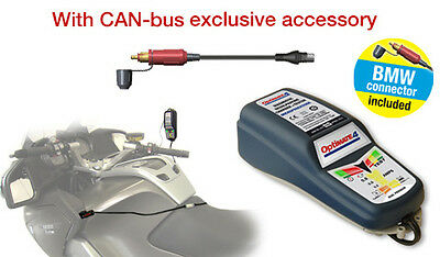 Optimate 4 Can-Bus Ready Edition Battery Charger with BMW power Socket connector