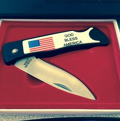 God Bless America  Pocket Knife  - 2 1/2 Inches