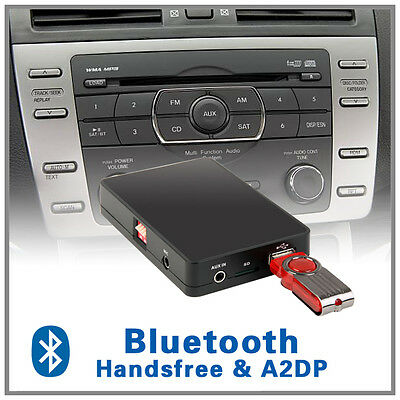 Car Stereo Bluetooth handsfree A2DP CD changer adapter-Mazda 3 5 6 MX5 CX7 RX8