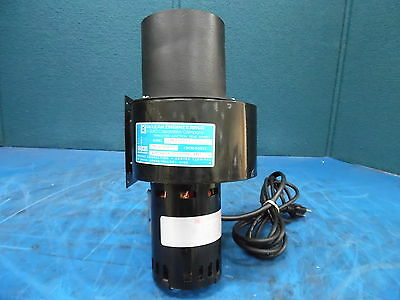 Mclean Engineering Laser Blower Mn: 1Nb412S77 & Mclean Motor Mn: U62B1