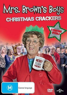 Mrs Brown's Boys: Christmas Specials (Xmas Special / Mammy / The Virgin) NEW DVD
