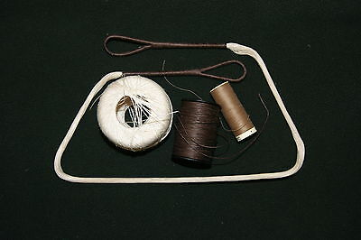Handmade high quality linen crossbow string for re-enactment/larp/antique
