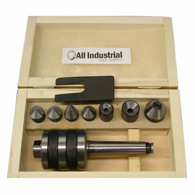 MT1 Live Center Set Morse Taper 1MT Triple Bearing Lathe Medium Duty CNC