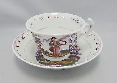 Antique Chinese Export Faith, Hope, Charity Cup