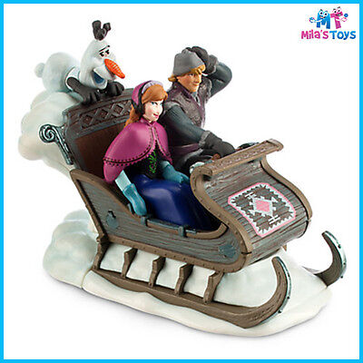 Disney Frozen Sleigh Wind-Up Toy Anna Kristoff Olaf brand new with tags