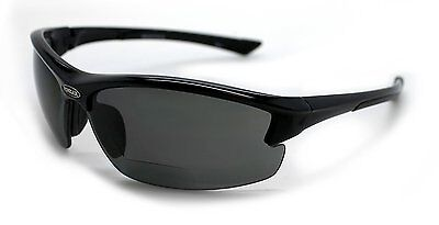 Mens Sunglasses Motorcycle RIDING POLARIZED with Readers 1.5x 2.0x 2.5x  NEW
