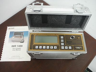IMR 1400  COMBUSTION GAS ANALYZER w/ USER MANUAL