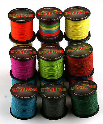 SUPERPOWER 300M Multicolor BRAID FISHING LINE 6-100LB SPECTRA PE DYNEEMA BRAIDED