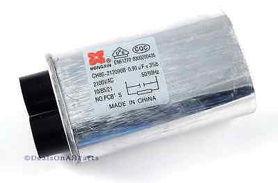 New Microwave Oven H.V. Capacitor For GE RCA Hotpoint Kenmore WB27X10011