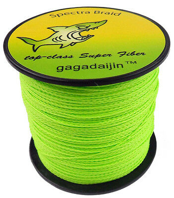 New 4Plys 8Plys 100M 300M 500M 1000M Dyneema Spectra Fishing Braided Line Green