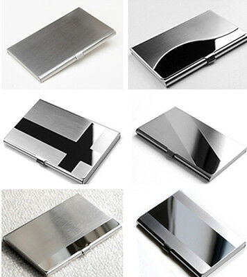 XS Creative Commodity Aluminum Holder Metal Case Credit ID Card Business Wallet