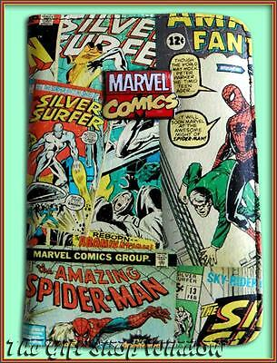 Marvel Comics Passport Cover Holder / Travel Ticket Wallet Boxed Super Quality