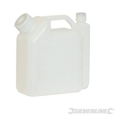 Bidon de mélange carburant 2 temps. 1 L. Silverline 633920