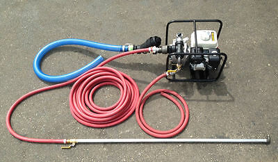 Portable Sealcoating Spray System W/ Honda Motor