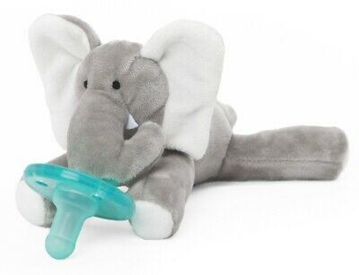New Wubbanub Infant Baby Soothie PACIFIER Elephant