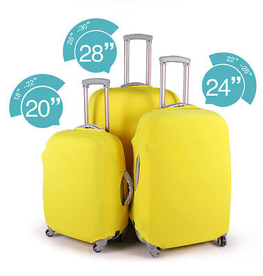 HOT ! Travel Suitcase Luggage Carrier Protective Cover Storage Anti Dust for 24""