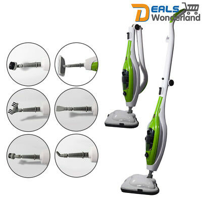 10 in 1 Multifunction Floor Steam Mop Steaming Cleaning 1300W Floor Cleaner