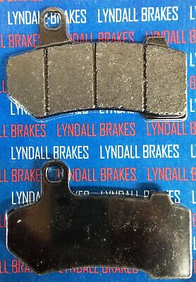 Lyndall Racing Xtreme Low Dust Front Rear Brake Pads Harley Touring V-Rod