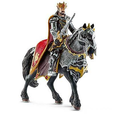 Schleich - Dragon Knight King on Horse Toy Figure NEW knights model #70115