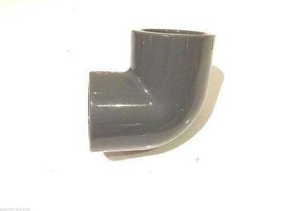 25mm PVC VDL 90 Degree Elbow Solvent Weld Marine Tropical Aquarium Pipework