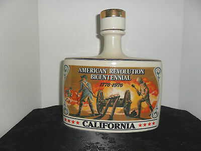 American Revolution Bicentennial 1776-1976 California Decanter
