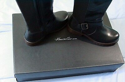 "*NWB* Kenneth Cole New York Womens Tall Leather Boots ""Jenny"" Winter Clearance!"