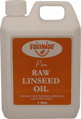 Equinade Pure Raw Linseed Oil supplement Cold Pressed Flax Seed horse dog cattle