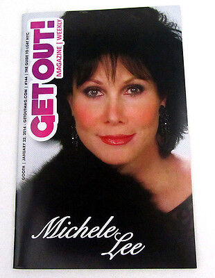 Get Out! Magazine Jan 2014 New York Only Michele Lee Knots Landing Gay Interest
