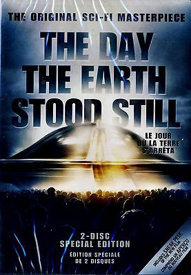 New 2Dvd Set- The Day The Earth Stood Still - Remastered 1951 Sci Fi Classic -