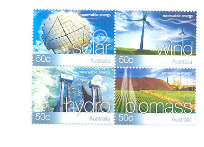 Australia-Energy-Science mnh block-2368a
