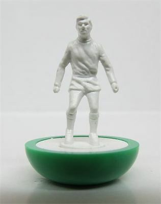 SET DI 11 Miniature Hybrid subbuteo bianche 11 unpainted table soccer figures