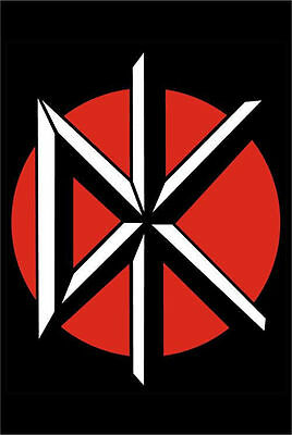 DEAD KENNEDYS - LOGO MUSIC POSTER - 24 x 36 SHRINK WRAPPED - ROCK BAND 784