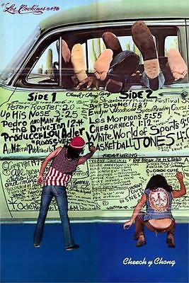 CHEECH AND CHONG - THE PIGS GRAFFITI POSTER - 24x36 MARIJUANA JOINT POT 794