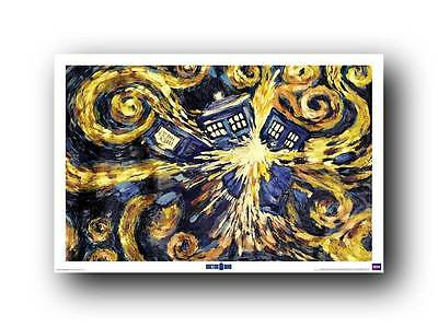 Dr. Who Doctor Who Art  24x36 TV Poster BBC RP 0453