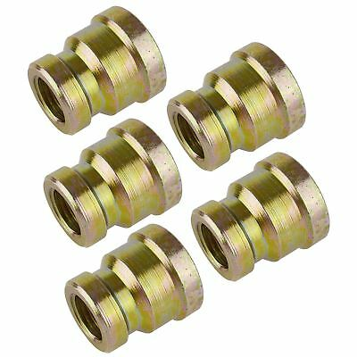 "3/8"" BSP to 1/4"" BSP Air Fitting Female Reducing Socket Adapter 5 PACK FT057"