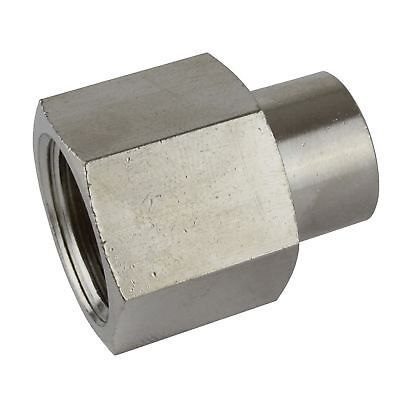 "1/2"" BSP to 1/4"" BSP Female Reducing Socket Air Compressor Adapter Fitting FT0"