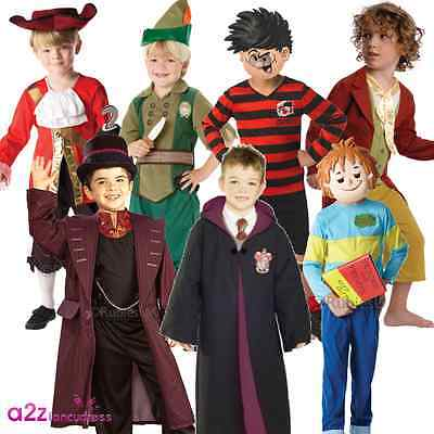 Boys World Book Day Week Character Story Kids Childs Fancy Dress Costume Outfit