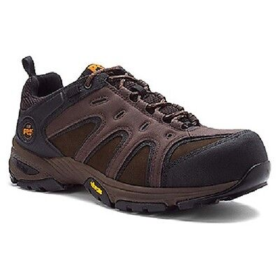 Men's Timberland PRO Wildcard Composite Toe Brown Work and Safety Shoes 87565